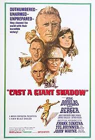 Kirk Douglas, Frank Sinatra, John Wayne, Senta Berger, and Yul Brynner in Cast a Giant Shadow (1966)