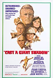Cast a Giant Shadow (1966) Poster - Movie Forum, Cast, Reviews