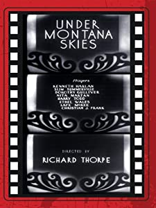 Movie television watching Under Montana Skies USA [mts]