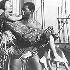 Alex Cressan and Dorothy Dandridge in Tamango (1958)