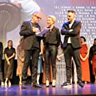 Karina Smulders, Ben Sombogaart, and Dries Vos at an event for Keizersvrouwen (2019)