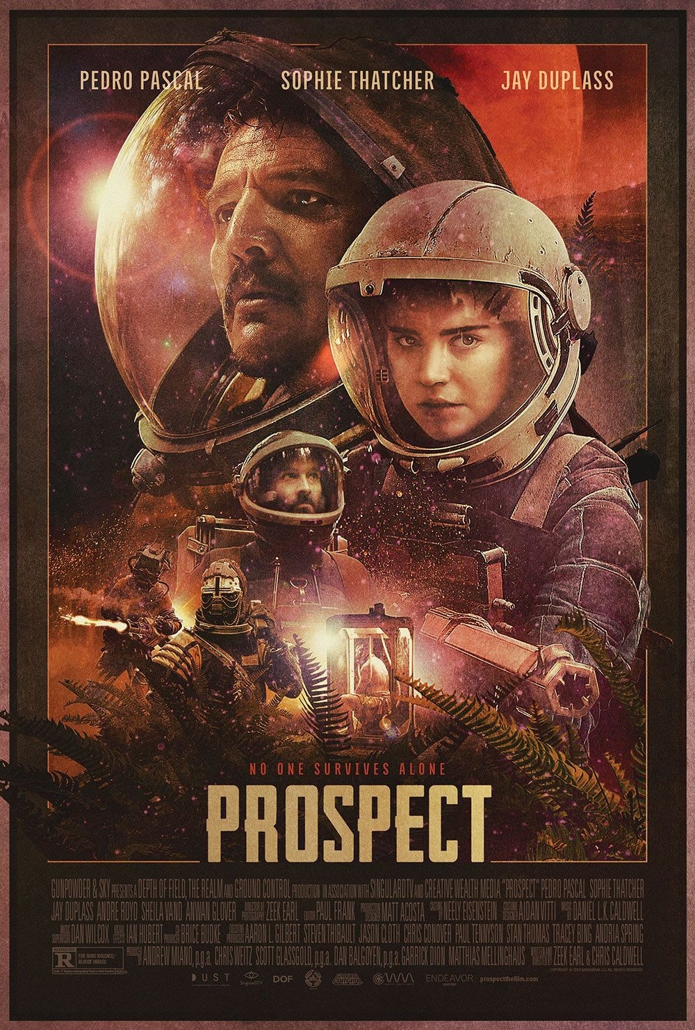 Prospect (2019) Hindi Dubbed 720p HDRip 850MB Download