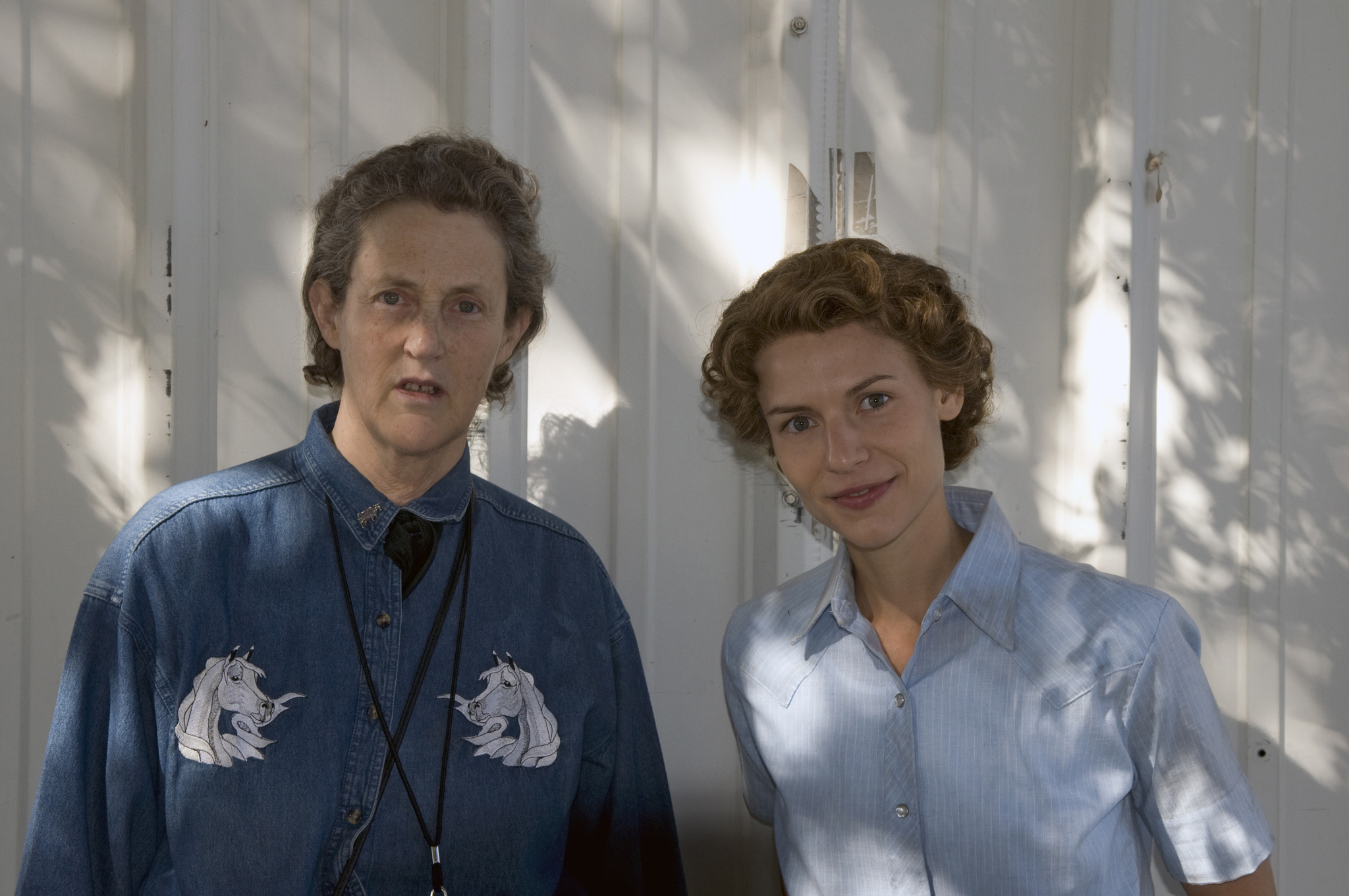 Claire Danes and Temple Grandin in Temple Grandin (2010)