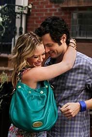 Penn Badgley and Hilary Duff in Gossip Girl (2007)
