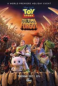Tom Hanks, Tim Allen, Wallace Shawn, Kevin McKidd, Kristen Schaal, and Emma Hudak in Toy Story That Time Forgot (2014)