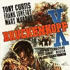Tony Curtis, Stuart Heisler, Frank Lovejoy, and Mary Murphy in Beachhead (1954)