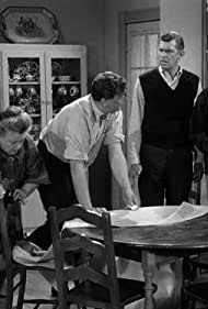 Frances Bavier, Bernard Fox, Andy Griffith, and Don Knotts in The Andy Griffith Show (1960)