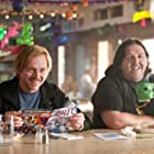Nick Frost, Jane Lynch, and Simon Pegg in Paul (2011)