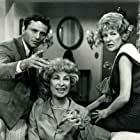 Peter Falk, Joanna Barnes, and Elaine Stritch in The Trials of O'Brien (1965)