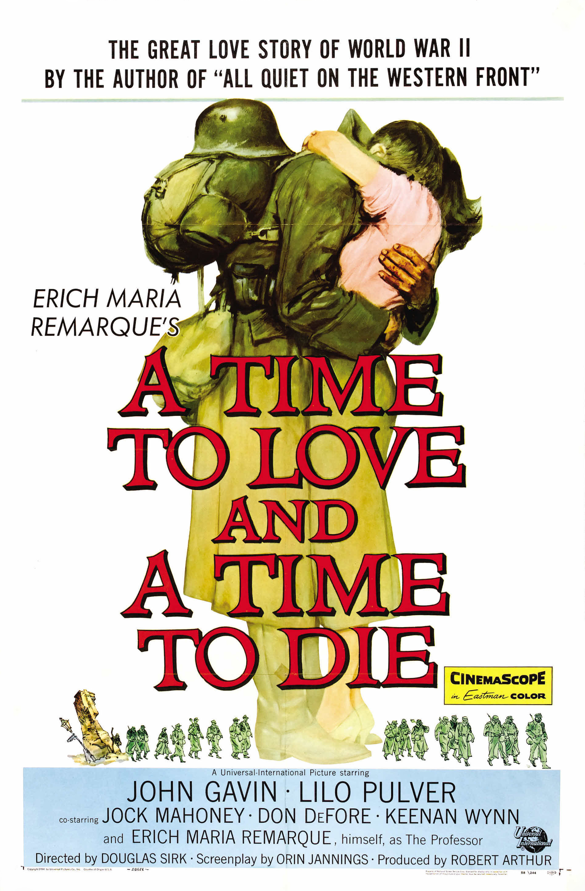 A Time to Love and a Time to Die (1958) - IMDb