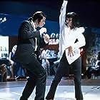 Uma Thurman and John Travolta in Pulp Fiction (1994)