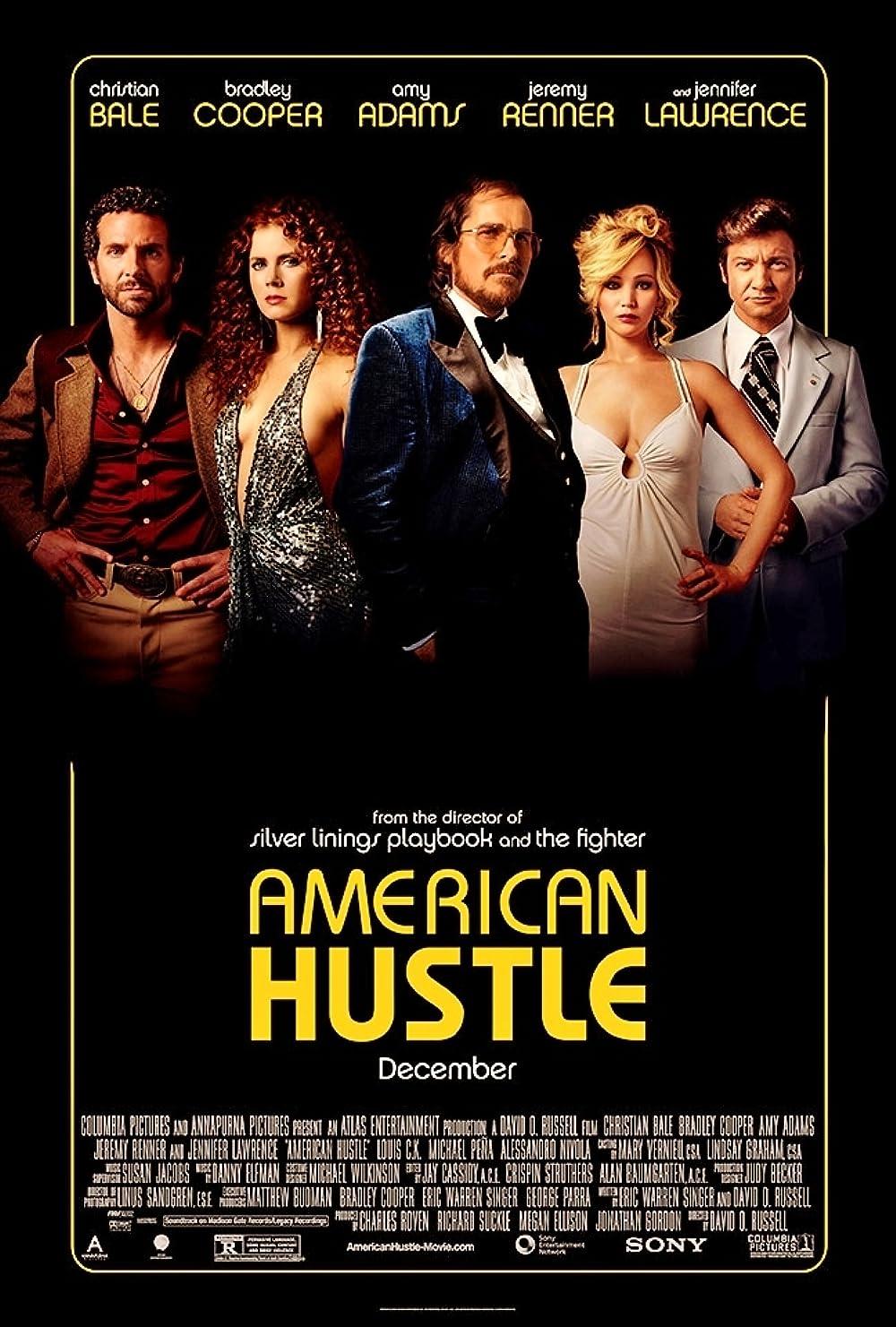American Hustle 2013 Hindi Dual Audio 720p BluRay ESubs 980MB Download