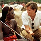 Kevin Bacon and Charles Gitonga Maina in The Air Up There (1994)