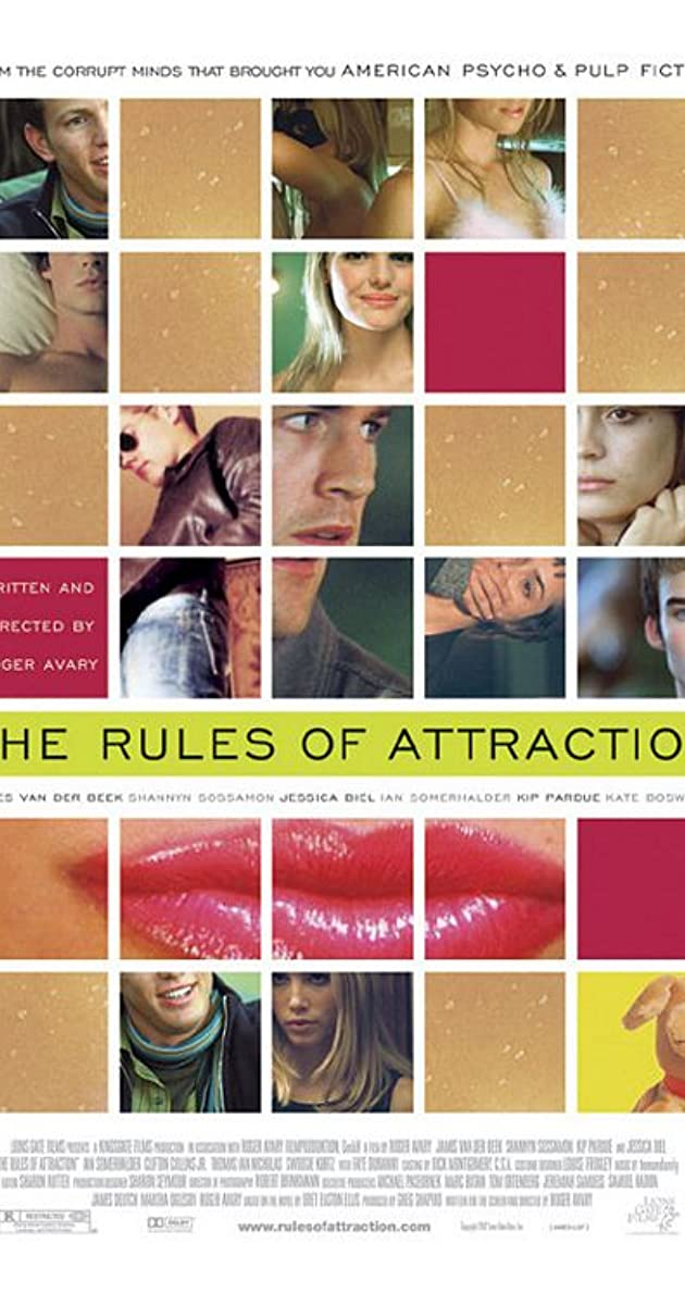 Subtitle of The Rules of Attraction