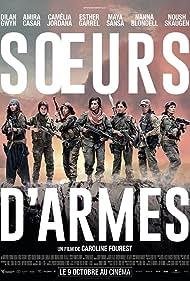 Amira Casar, Maya Sansa, Esther Garrel, Nanna Blondell, Noush Skaugen, Camélia Jordana, and Dilan Gwyn in Soeurs d'armes (2019)