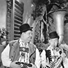 Oliver Hardy and Stan Laurel in Swiss Miss (1938)