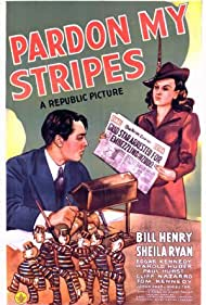 William Henry and Sheila Ryan in Pardon My Stripes (1942)