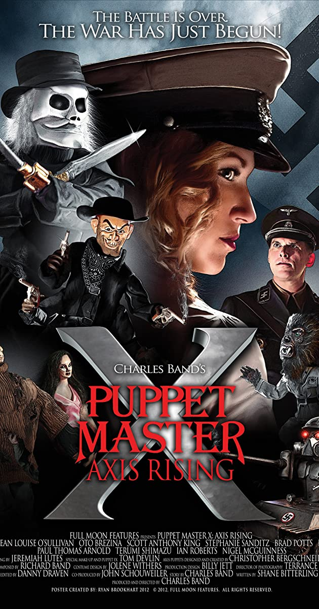 Subtitle of Puppet Master X: Axis Rising