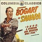 Humphrey Bogart and Bruce Bennett in Sahara (1943)