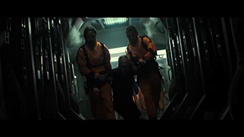 A man wrongly convicted of conspiracy to commit espionage against the U.S. is offered his freedom if he can rescue the president's daughter from an outer space prison taken over by violent inmates.
