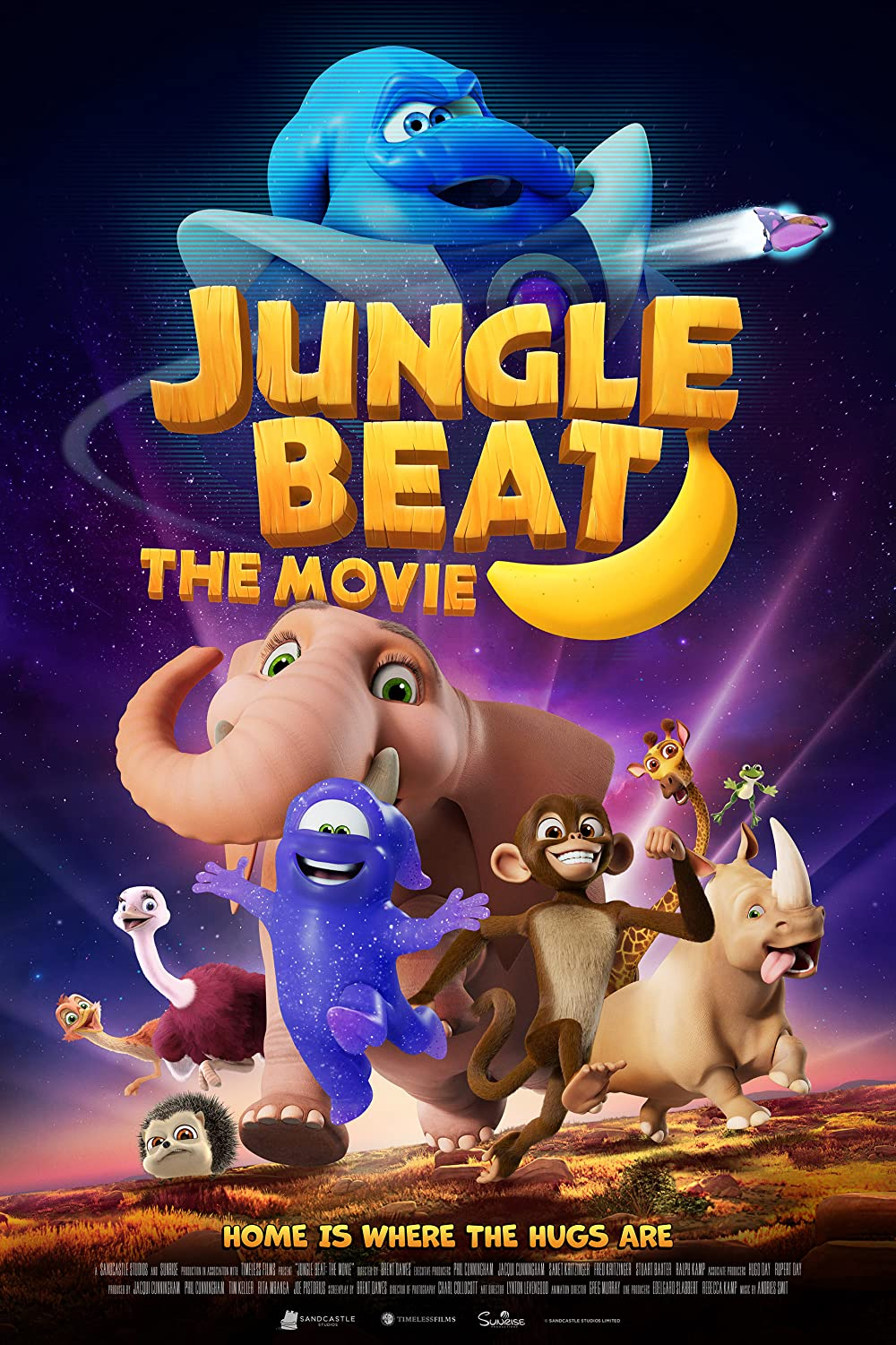 Jungle Beat The Movie 2021 Hindi ORG Dual Audio 720p NF HDRip MSubs 630MB Download