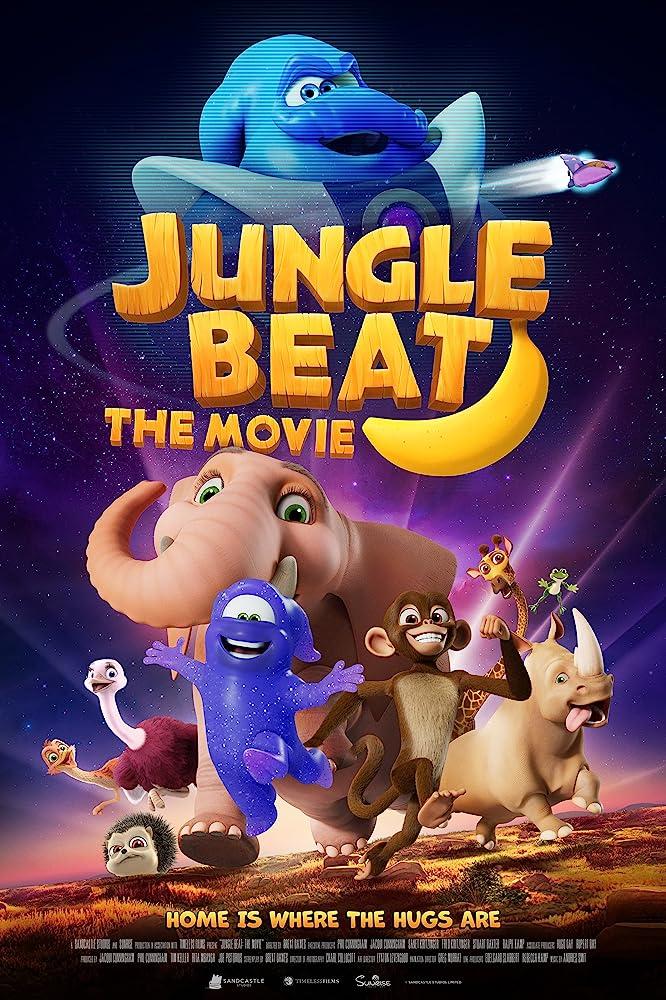 Jungle Beat The Movie (2020) English 480p WEBRip ESubs 400MB
