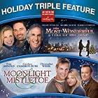 Tom Arnold, Henry Winkler, Brooke Burns, Candace Cameron Bure, Christopher Wiehl, and Warren Christie in Moonlight & Mistletoe (2008)