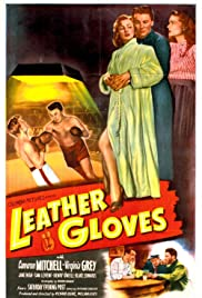 Leather Gloves Poster