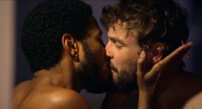 Ícaro Silva and Rafael de Bona in 45 Dias Sem Você (2018)