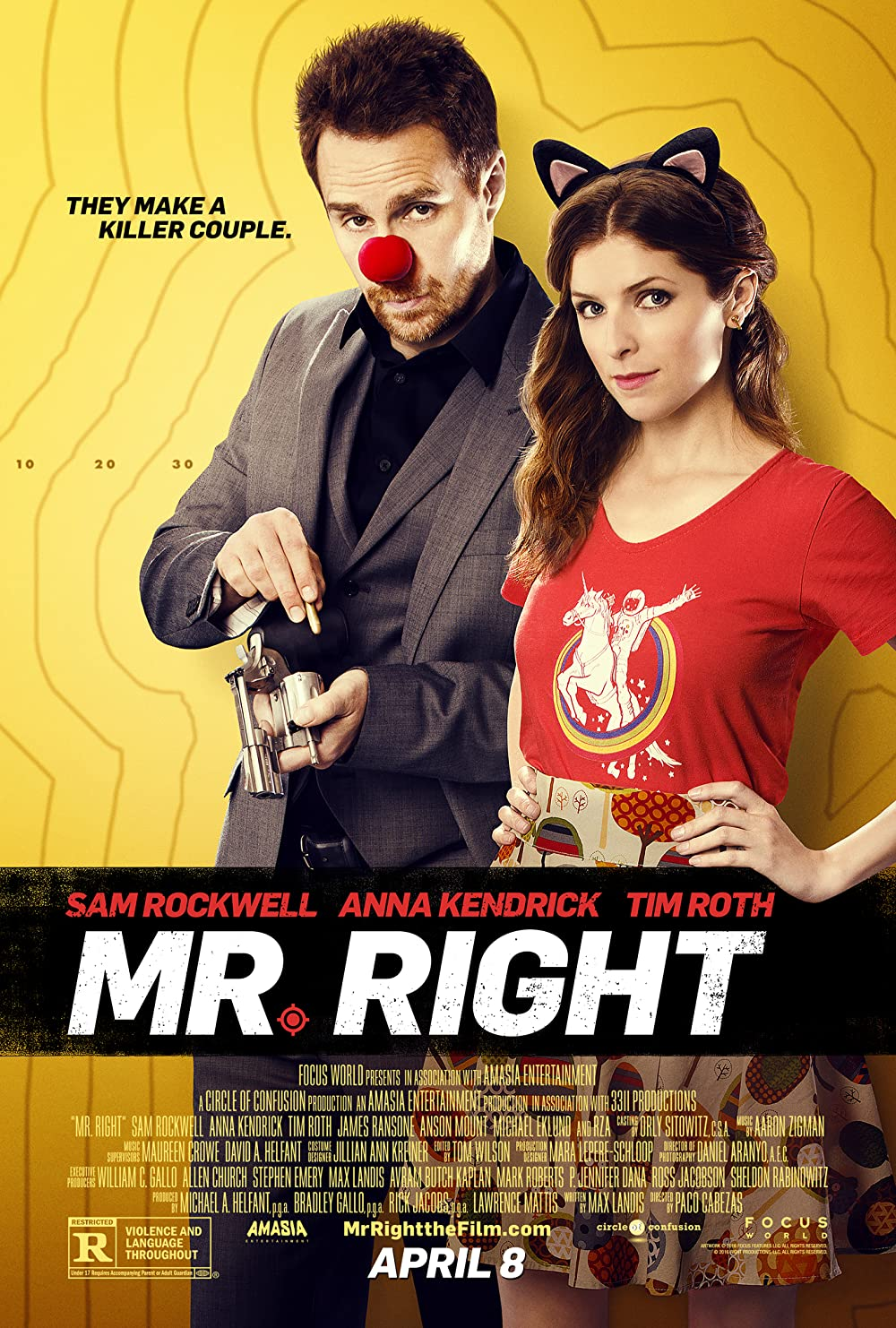 Poster film Mr. Right.