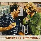 Jane Fonda and Rod Taylor in Sunday in New York (1963)