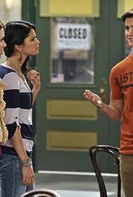 Jennifer Stone, Selena Gomez, and Daniel Benson in Wizards of Waverly Place (2007)