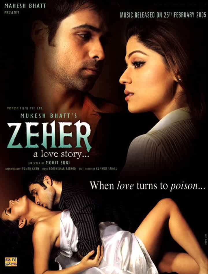 Download Zeher (2005) Hindi Full Movie BluRay 480p [350MB] | 720p [1GB]