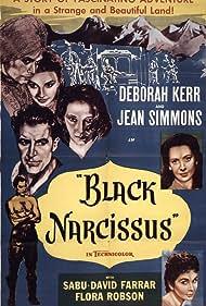 Deborah Kerr, Kathleen Byron, Judith Furse, Jenny Laird, Flora Robson, and Sabu in Black Narcissus (1947)