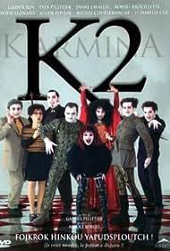 Robert Brouillette, Michel Courtemanche, Isabelle Cyr, Diane Lavallée, Sylvie Léonard, Yves Pelletier, Julien Poulin, and Gildor Roy in Karmina 2 (2001)
