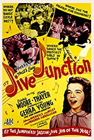 Venise Grove, Dickie Moore, Tina Thayer, Gerra Young, and Don Gallaher in Jive Junction (1943)