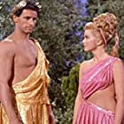 Michael Forest and Leslie Parrish in Star Trek (1966)