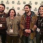 Tekla Machavariani, Dimitri Dito Dekanosidze, and Ioseb 'Soso' Bliadze at an event for Three Steps (2017)