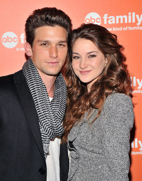 Shailene Woodley and Daren Kagasoff at an event for The Secret Life of the American Teenager (2008)