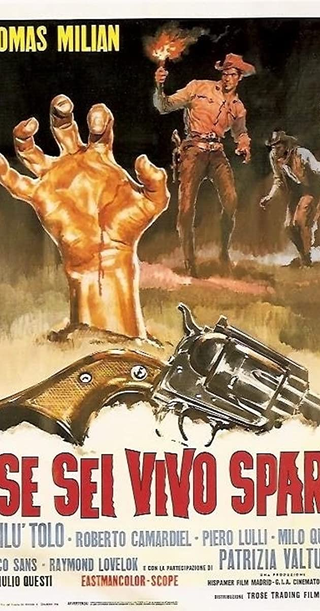 Subtitle of Django Kill... If You Live, Shoot!