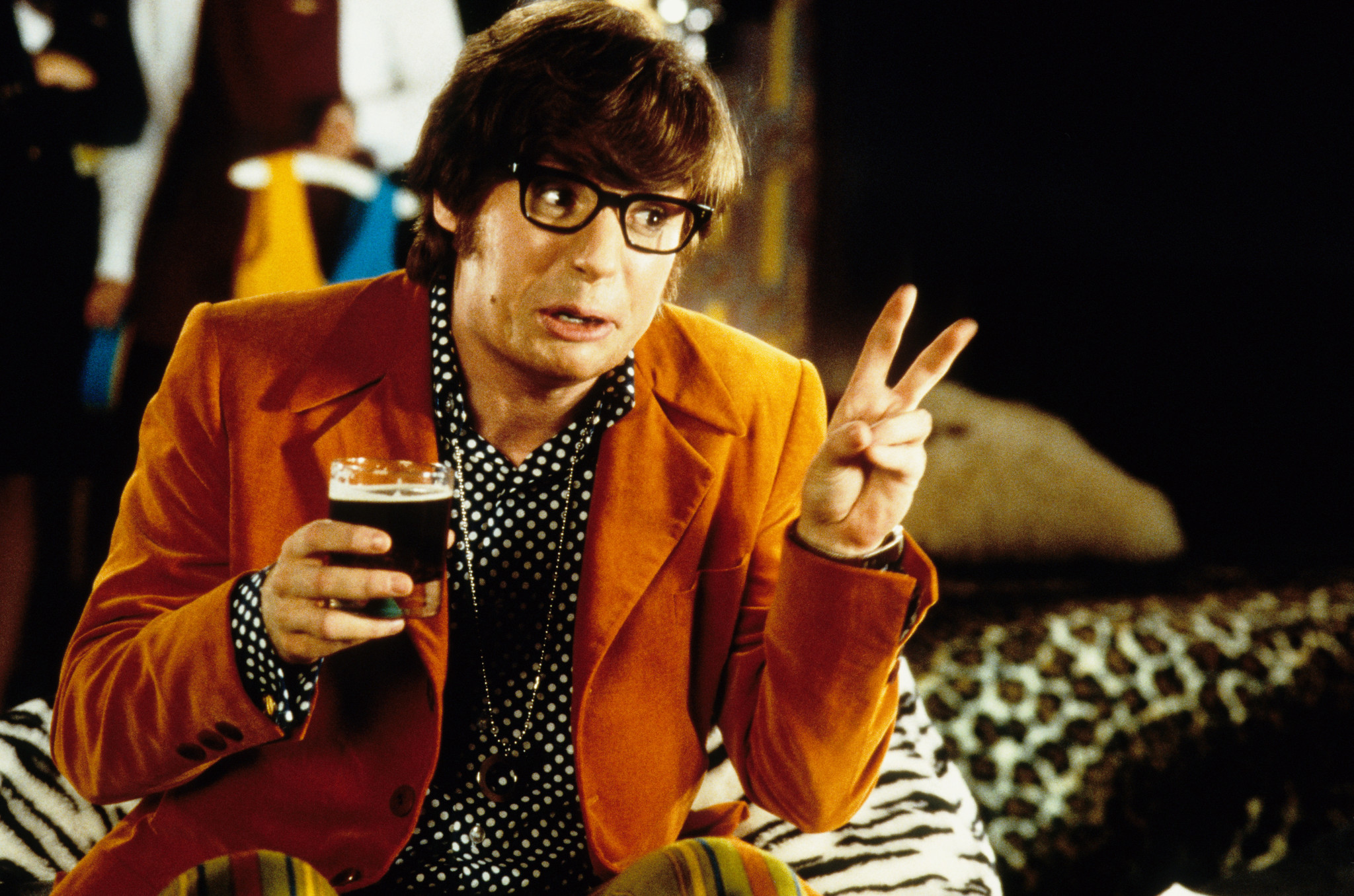 Mike Myers in Austin Powers: International Man of Mystery (1997)