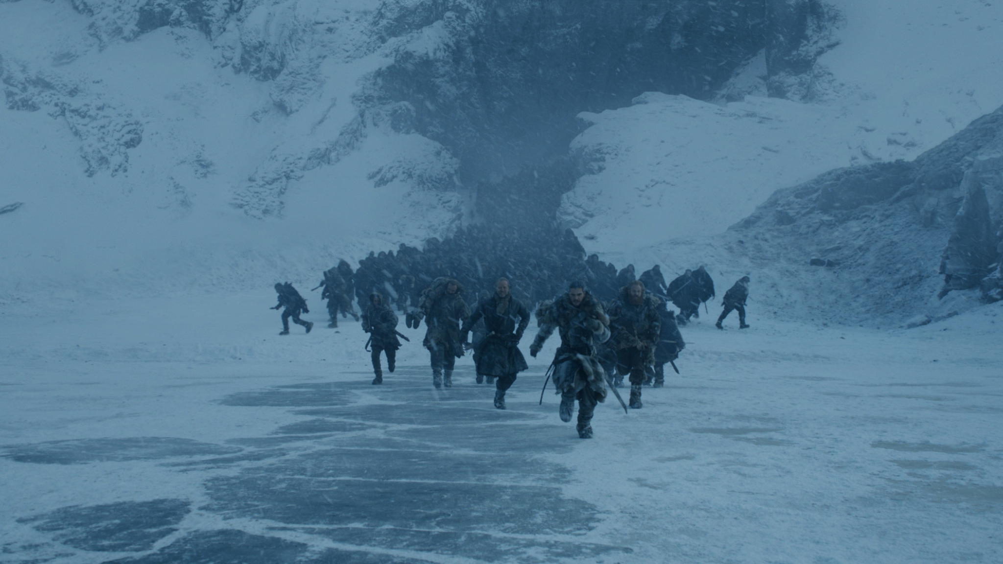 Iain Glen, Rory McCann, Kristofer Hivju, and Kit Harington in Game of Thrones (2011)