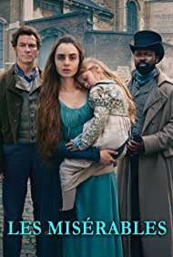 David Oyelowo, Dominic West, and Lily Collins in Les Misérables (2018)