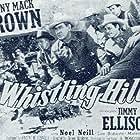 Johnny Mack Brown, James Ellison, and Herman Hack in Whistling Hills (1951)