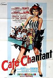 Café chantant Poster