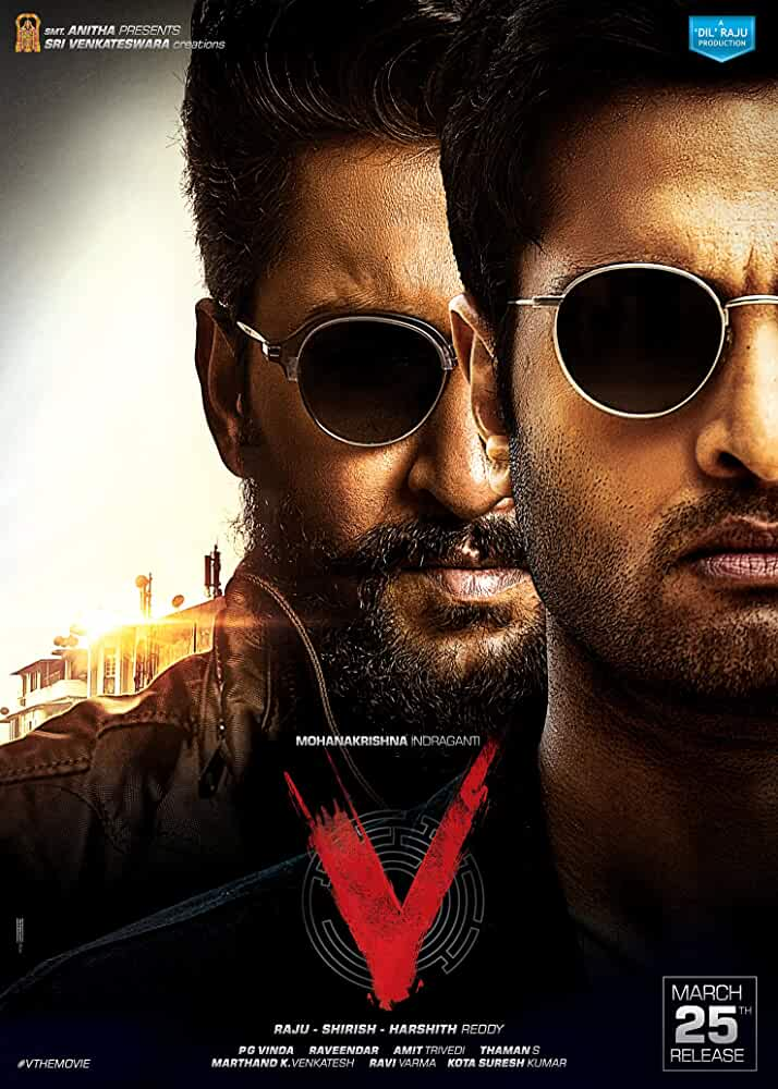 V 2020 Telugu 480p HEVC HDRip 450MB With Bangla Subtitle