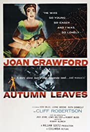 Autumn Leaves (1956) Poster - Movie Forum, Cast, Reviews