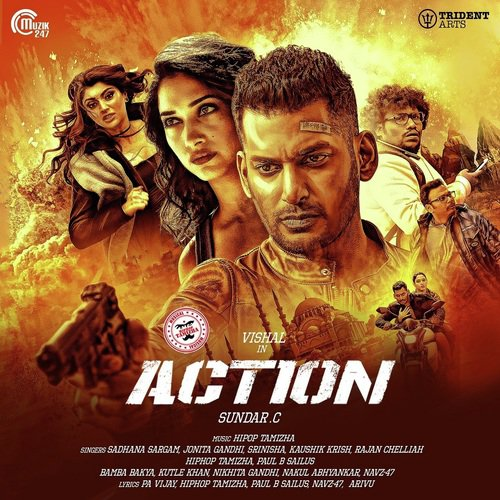 Action 2020 Hindi Dubbed 720p HDRip 800MB