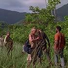 Harold Perrineau and Cynthia Watros in Lost (2004)