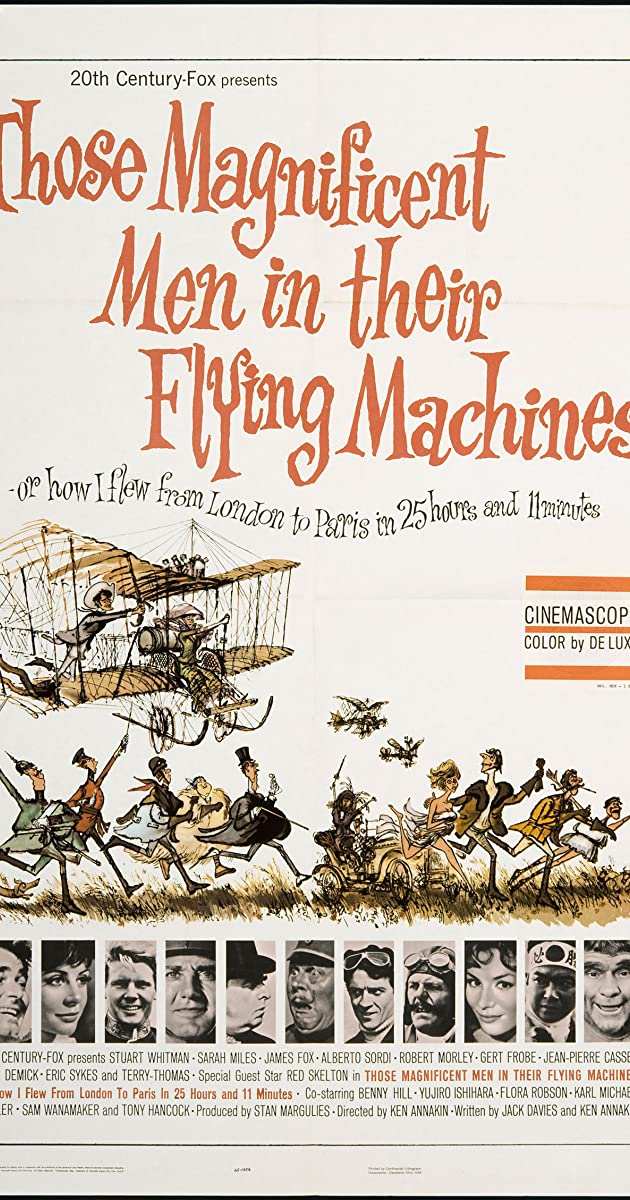 Those Magnificent Men in Their Flying Machines or How I Flew from London to Paris in 25 hours 11 minutes (1965) Subtitles